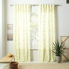 soft yellow curtains u2013 evideo me