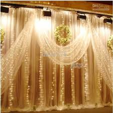 wedding backdrop fairy lights best 25 led curtain lights ideas on backdrops fabric