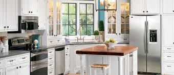 House Kitchen Appliances - kitchens with stainless steel appliances and white cabinets