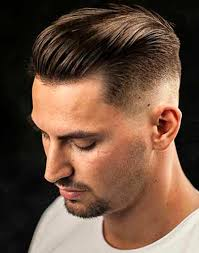 short hairstyles with fringe sideburns haircuts for men