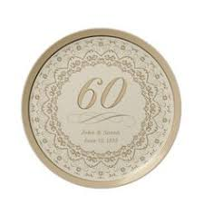 60th anniversary plate 60th wedding anniversary porcelain plate 60th anniversary gifts