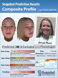 scientists can construct a mugshot using just dna
