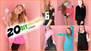 cute halloween costume ideas for 12 year olds extremely last minute diy halloween costume ideas youtube