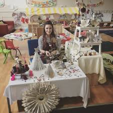up north in sunderland selling my christmas crafts after leaving