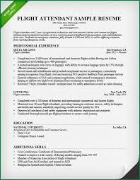 flight attendant resume template best housekeeper room attendant