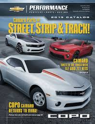 2013 camaro zl1 production numbers 2013 chevrolet performance catalog features camaro parts for