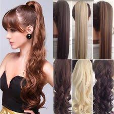 extension hair clip in ponytail hair extensions ebay