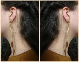 how to make ear cuffs diy ear cuffs make chain ear cuff nbeads