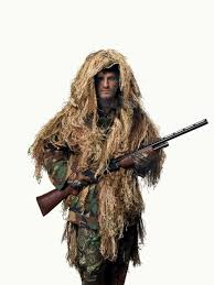 Ghillie Suit Halloween Costume Ghillie Suit 4 Steps Outdoor
