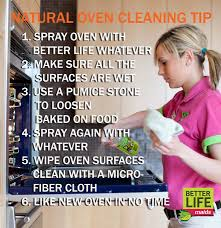 all natural oven cleaning tip better life maids blog