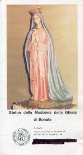 santuario ghiaie di bonate immaginette mariane italia lombardia