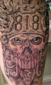 aztec skull tattoos tattoo collections