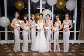 new years weddings new year 39 s wedding with glittering metallic details in