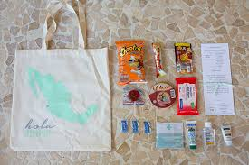 wedding welcome bags contents festive vallarta mexico destination wedding