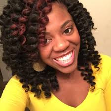how many bags of pre twisted jaimaican hair is needed crochet braids cut curled youtube