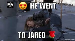 Jared Meme - monday meme dead thoughts blog