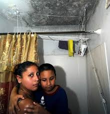 Mould Bedroom Ceiling Nycha Residents Live With Mold That Won U0027t Die Ny Daily News