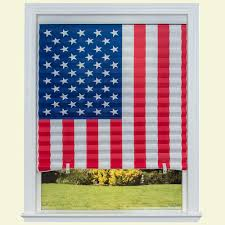 temporary shades shades the home depot paper american flag window shade