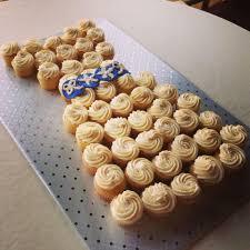 sparkle cupcakes bridal shower cupcake cake dress