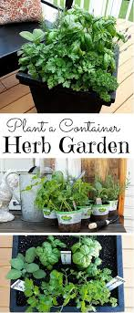 Potted Herb Garden Ideas 32 Diy Plant Marker Ideas For Container Gardeners Balcony