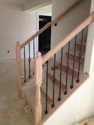 Banister Attachment Basement Hand Railing Half Open Wall Doityourself Com