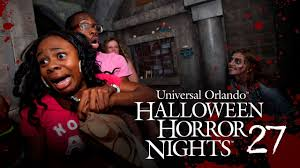 halloween horror nights at universal orlando resort youtube