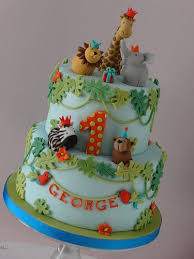 zoo themed birthday cake zoo themed cake ideas for first birthday parties