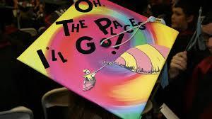 caps for graduation cool caps the horizon