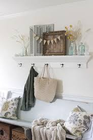 Church Pew Home Decor 119 Best Entry Images On Pinterest Farmhouse Style Entryway