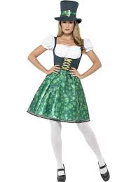 Leprechaun Halloween Costume Ideas Leprechaun Lass Costume 45511 Fancy Dress Ball