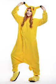 Pikachu Costume Pikachu Halloween Costume Pokemon Pikachu Onesie Plus Size