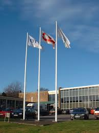Flags And Flagpoles Buy White Architectural Aluminium Flagpole Flags Flagpoles And
