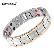 energy bracelet titanium images Health care 4 in 1 bio energy magnetic titanium bracelet with jpg
