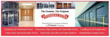Overhead Door Company Atlanta Overhead Door Company Of Atlanta Garage Doors Glass Doors