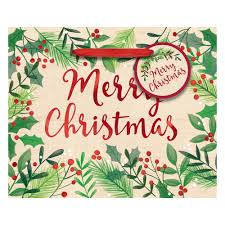 christmas wrapping bags amscan 4 5 in x 5 5 in x 2 75 in christmas merry day hot