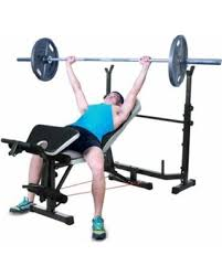 Home Gym Weight Bench Tis The Season For Savings On Ancheer Mid Width Weight Bench Arms