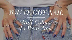 nail polish color trends to try the zoe report by rachel zoe