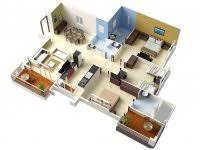 3 Bedroom House Plans Indian Style Best Small House Designs In The World Bedroom Floor Plan Bungalow