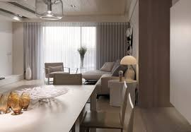 Modern Apartment Design Neutral Contemporary Apartment By W C H Design Studio
