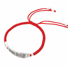 lucky red bracelet images Lucky red rope bracelet handmade bangle wax string amulet jewelry jpg