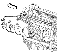 repair instructions off vehicle intake manifold removal 2003