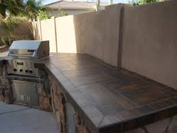 outdoor kitchen countertop ideas tiled countertops bar outdoor kitchen pictures of outdoor bars