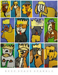 royal pooches dog drawing and painting lesson for kids deep