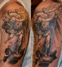 16 half sleeve evil tattoos