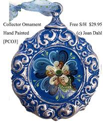 54 best christmas ornaments hand painted images on pinterest