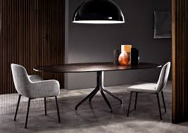 Black And Cherry Wood Dining Chairs Furniture Charming Home Interior Design Ideas With Minotti Dining
