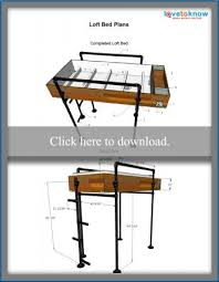 free loft bed plans lovetoknow