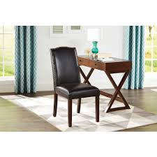 Faux Leather Accent Chair Faux Leather Accent Chair For Your Chair King With Additional