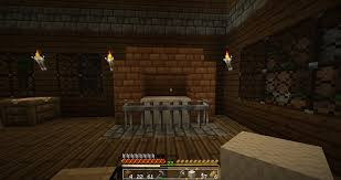 how to make a fireplace in minecraft pe dact us