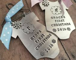 Christmas Ornaments For Baby Baby Ornament Etsy